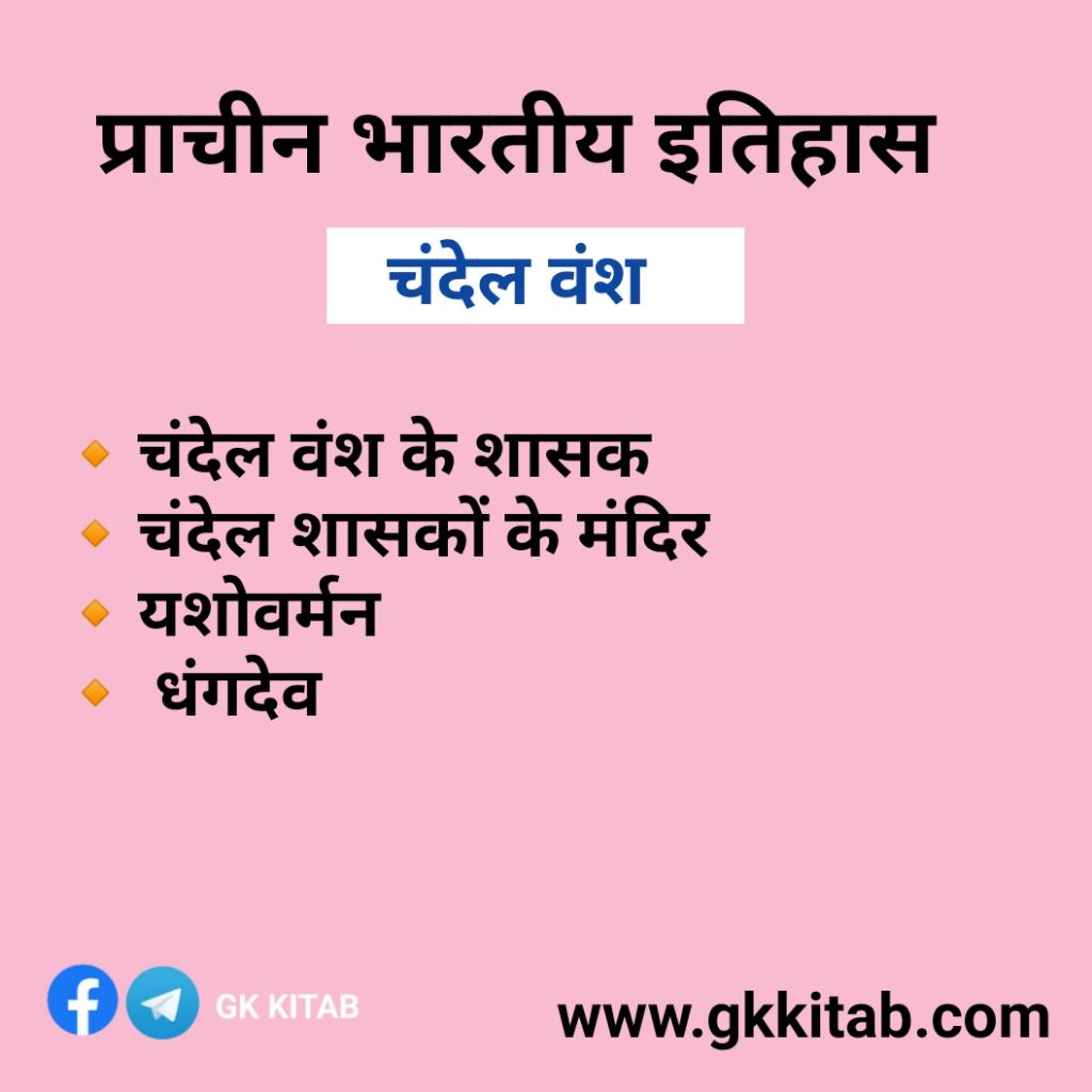Chandel Vansh history in Hindi