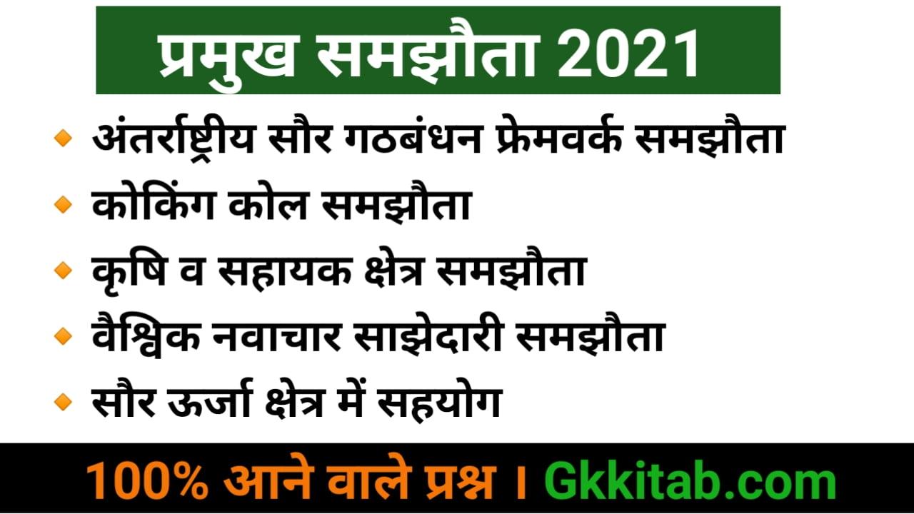 Pramukh Samjhauta 2021