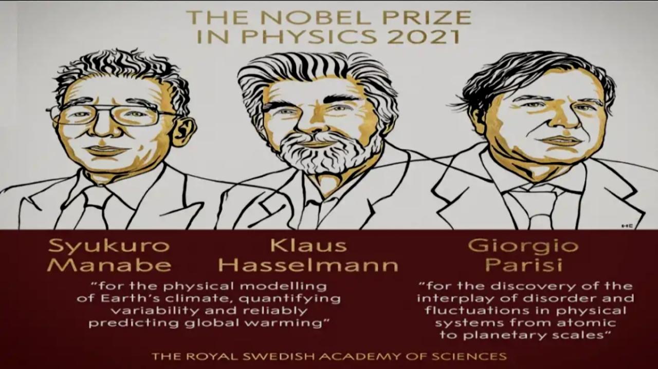 Nobel prize 2021 in Physics
